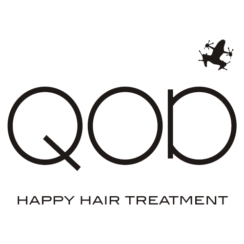 QOD happy hair treatment logo